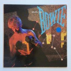 Discos de vinilo: DAVID BOWIE – LET'S DANCE GERMANY 1983 EMI AMERICA. Lote 205187490