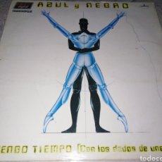 Discos de vinilo: AZUL Y NEGRO-NO TENGO TIEMPO. Lote 205187576