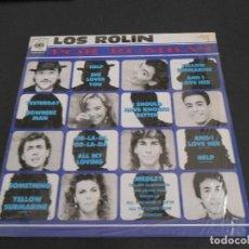 Discos de vinilo: LP LOS ROLIN - POR RUMBAS - 1991. Lote 205188627