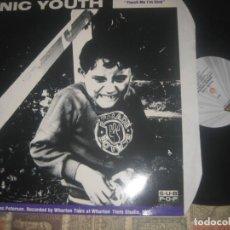 Discos de vinilo: SONIC YOUTH / MUDHONEY – TOUCH ME I'M SICK / (BLAST FIRSTMAXI VINYL 1989) OG ENGLAND LEA DESCRIPCIO. Lote 205193705