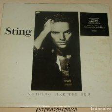 Discos de vinilo: STING - ... NOTHING LIKE THE SUN - 2XLP POLYGRAM SPAIN 1987. Lote 205193961