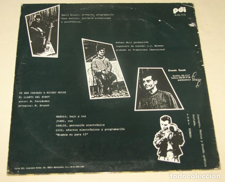Discos de vinilo: MERCADO NEGRO - SE HAN CARGADO A MICKEY MOUSE + 1 - PDI 1984 - Foto 2 - 205194136