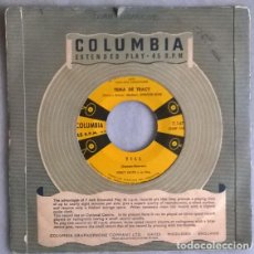 Discos de vinilo: PERCY FAITH. TEMA DE VERANO DE AMOR/ TILL/ TEMA DE TRACY/ LA MONTAÑA. COLUMBIA, ARGENTINA EP. Lote 205197103