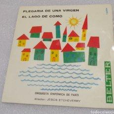 Discos de vinilo: ORQUESTA SINFÓNICA DE PARÍS - PLEGARIA DE UNA VIRGEN. Lote 205199078