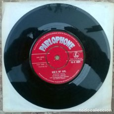Discos de vinilo: CHARLIE DRAKE. SHE'S MY GIRL/ MY BOOMERANG WON'T COME BACK. PARLOPHONE, UK 1961 SINGLE. Lote 205200351