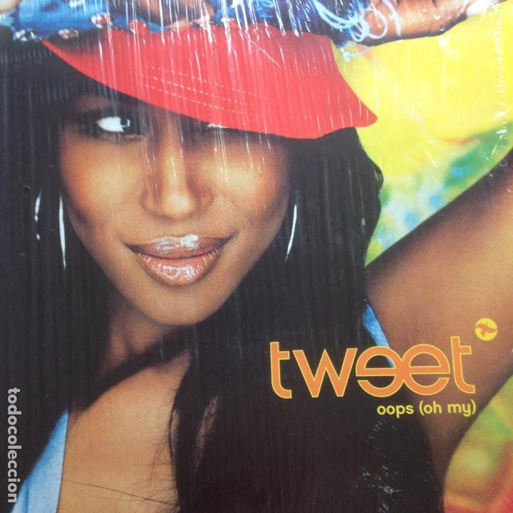 TWEET - OOPS (OH MY) - SOLO PORTADA - MAXI (Música - Discos de Vinilo - Maxi Singles - Rap / Hip Hop)