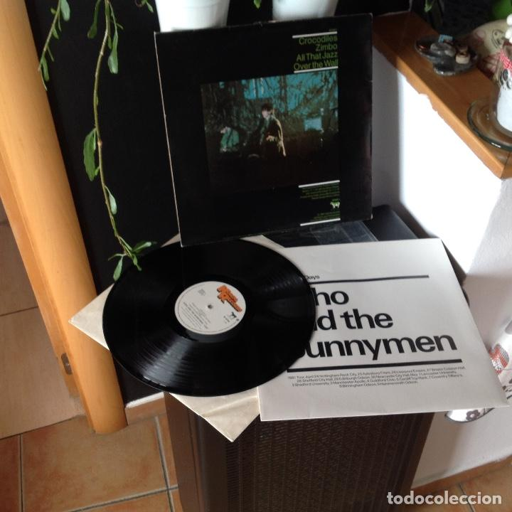 Discos de vinilo: ECHO AND THE BUNNYMEN - LIVE - SHINE SO HARD - 4 TEMAS -1981 UK - Foto 4 - 205235371