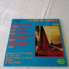 Discos de vinilo: LA HORA DEL CONCIERTO. CONCIERTO DE VARSOVIA, MARCHA HÚNGARA... ZAFIRO. 1973. LP.. Lote 205169138