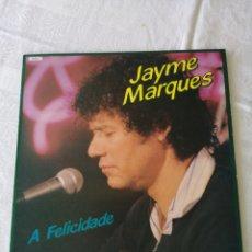 Discos de vinilo: A FELICIDADE. JAYME MARQUES. DIAMANTE. LP. Lote 205243421