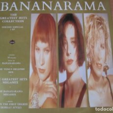 Disques de vinyle: DOBLE DISCO VINILO BANANARAMA THE GREATEST HITS COLLECTION. Lote 205246408