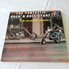 Discos de vinilo: THE FANTASTIC ROCK'N ROLL STORY BY THE GRAFFITI SINGERS. VOL 2. WHAT'D I SAY. CARRERE. LP.. Lote 205251362