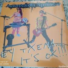 Discos de vinilo: ANASTAZIA SPENCER. HEY TXEMA IT'S OK!!!. LP VINILO NUEVO PRECINTADO - PUNK - PSYCOBILLY - GARAGE. Lote 205264675
