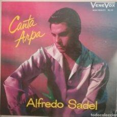 Discos de vinilo: ALFREDO SADEL LP SELLO VENEVOX EDITADO VENEZUELA. Lote 205267817