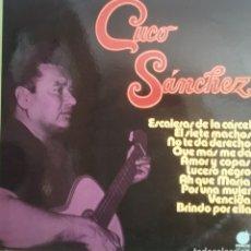 Discos de vinilo: CUCO SANCHEZ LP SELLO INPACTO EDITADO EN ESPAÑA. Lote 205268590