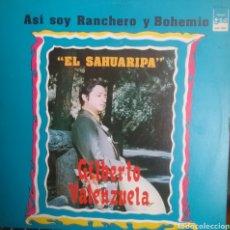 Discos de vinilo: GILBERTO VALENZUELA LP SELLO GAS EDITADO EN MEXICO. Lote 205268998
