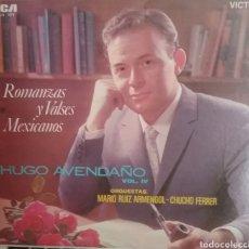 Discos de vinilo: HUGO AVENDAÑO LP SELLO RCA VÍCTOR EDITADO EN MÉXICO AÑO 1968. Lote 205269841