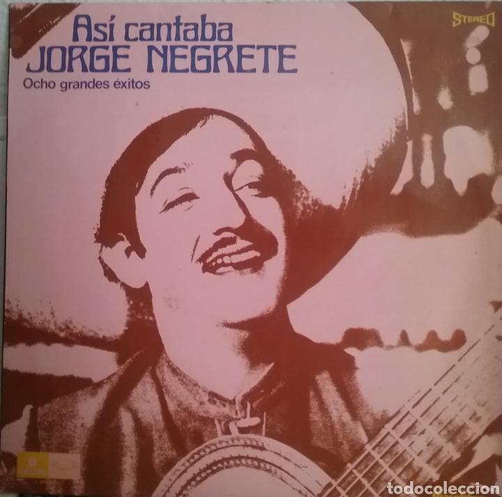 JOGE NEGRETE LP SELLO EMI ODEON EDITADO EN ESPAÑA AÑO 1971 (Música - Discos - LP Vinilo - Grupos y Solistas de latinoamérica)