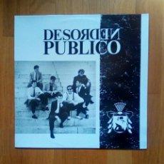 Discos de vinilo: DESORDEN PUBLICO - EPIC, EPC 463173 1, 1988. SPAIN. LL. Lote 205275978
