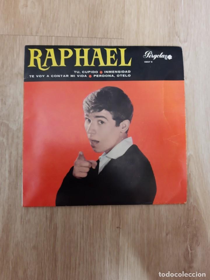 EP RAPHAEL * PERGOLA * SINGLE * TU CUPIDO (Música - Discos de Vinilo - EPs - Flamenco, Canción española y Cuplé)