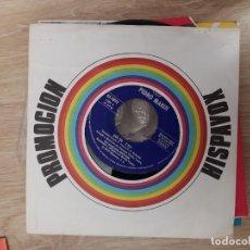 Discos de vinilo: EP SINGLE PROMOCION HISPAVOX * PEDRO MARIN. Lote 205280155