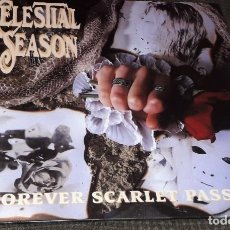 Discos de vinilo: CELESTIAL SEASON: FOREVER SCARLET PASSION LP BLANCO. Lote 205280902