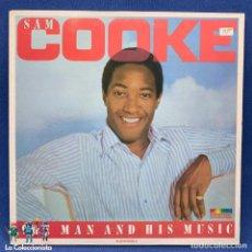 Discos de vinilo: LP - VINILO DE SAM COOKE - COOKE THE MAN AND HIS MUSIC - DOBLE LP - AÑO 1986 - ESPAÑA - PL 87127 (2). Lote 205281605