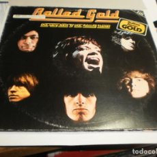 Discos de vinilo: LP DOBLE ROLLED GOLD. THE VERY BEST OF THE ROLLING STONES DECCA 1975 GERMANY CARP DOBLE (SEMINUEVOS). Lote 205282013