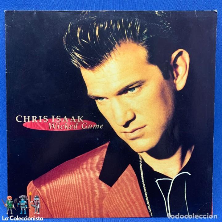 LP - VINILO DE CHRIS ISAAK - WICKED GAME - AÑO 1991 - ALEMANIA - 7599 26513-1 (Música - Discos - LP Vinilo - Pop - Rock Extranjero de los 90 a la actualidad)