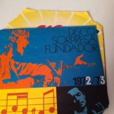 Discos de vinilo: EP SINGLE * DISCO SORPRESA FUNDADOR * 1972/73 * MIGUEL RAMOS. Lote 205283147