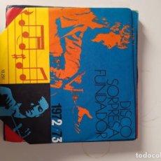 Discos de vinilo: EP SINGLE * DISCO SORPRESA FUNDADOR 1972/73 * MODULOS. Lote 205283270