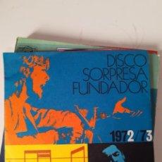 Discos de vinilo: EP SINGLE * DISCO SORPRESA FUNDADOR 1972/73 * LOS ALBAS. Lote 205283540