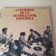 Discos de vinilo: EP SINGLE * CANCIONES DE LA GUERRA CIVIL ESPAÑOLA. Lote 205284952