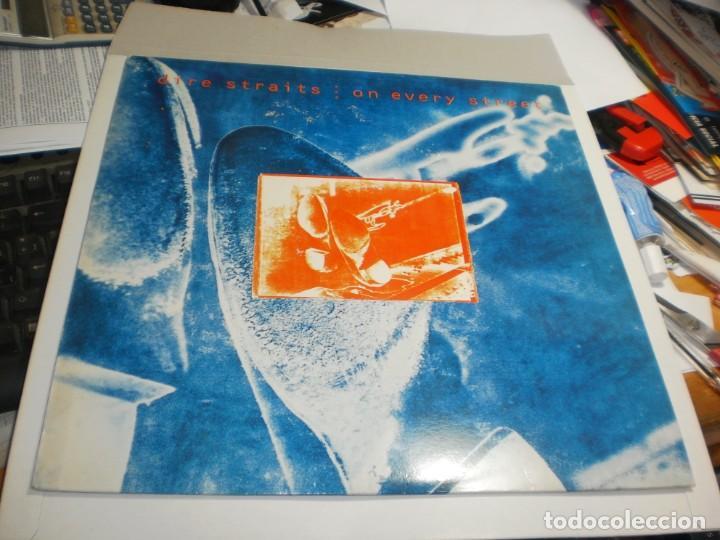 LP MARK KNOPFLER (DIRE STRAITS) ON EVERY STREET. VERTIGO 1991 SPAIN (PROBADO, BIEN, SEMINUEVO) (Música - Discos - LP Vinilo - Pop - Rock - New Wave Extranjero de los 80)
