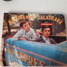 Discos de vinilo: EP SINGLE * HERMANOS CALATRAVA----EP 4 CANCIONES 1968 VERGARA. Lote 205289896