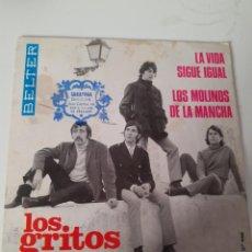 Discos de vinilo: EP SINGLE * LOS GRITOS * BELTER. Lote 205290496