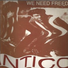 Discos de vinilo: ANTICO WE NEED FREEDOM. Lote 205298923