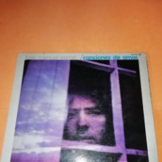Discos de vinilo: JOAN MANUEL SERRAT. CANCIONES DE AMOR. NOVOLA RECORDS . ZAFIRO 1976. Lote 205300246