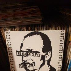 Discos de vinilo: MORTICIA Y LOS DECREPITOS / DIOS SALVE AL REY / PAKISTÁN ROCK AND ROLL CRUSSADE 2006. Lote 205300746