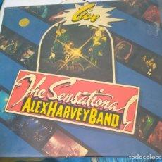 Discos de vinilo: ALEX HARVEY BAND ( THE SENSATIONAL ALEX HARVEY BAND 'LIVE' ) LP33 VERTIGO. Lote 205301495