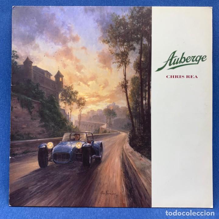 LP - VINILO DE AUBERGE - CHRS REA – ALEMANIA – AÑO 1991 - 9031-73580-1 (Música - Discos - LP Vinilo - Pop - Rock Extranjero de los 90 a la actualidad)