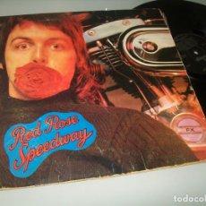 Discos de vinilo: WINGS - REDROSESPEED ( PAUL MCCARTNEY- BEATLES ) ..LP CON LIBRETO - CARPETA ABIERTA U.K. Lote 205304606