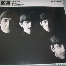 Discos de vinilo: THE BEATLES - WITH THE BEATLES ... LP DE 180 GR - PARLOPHONE - ULTIMA EDICION 2017 - PRECINTADO. Lote 205307963