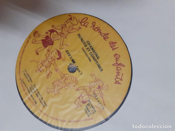 Discos de vinilo: LP VINILO FRANCÉS LA RONDE DES ENFANTS // 4 LPS - Foto 3 - 205312640