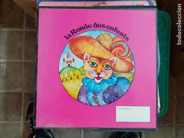 LP VINILO FRANCÉS LA RONDE DES ENFANTS // 4 LPS (Música - Discos - LPs Vinilo - Música Infantil)