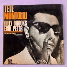 "Discos de vinilo: 7"" TETE MONTOLIU WITH BILLY BROOKS &ERIC PETER - JAZZ SELLO CONCENTRIC . A ESTRENAR. ENVÍO GRATIS. Lote 205319706"