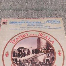 Discos de vinilo: LP TEATRO ALLA SCALA. Lote 205319931