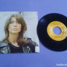 Discos de vinilo: SINGLE. FRANCOISE HARDY. SPAIN. BO 7298 RCA. AÑO 1981 PROMO SENTIMENTALE/GOLFO GOLFO ( VOYOU-VOYOU ). Lote 205320656