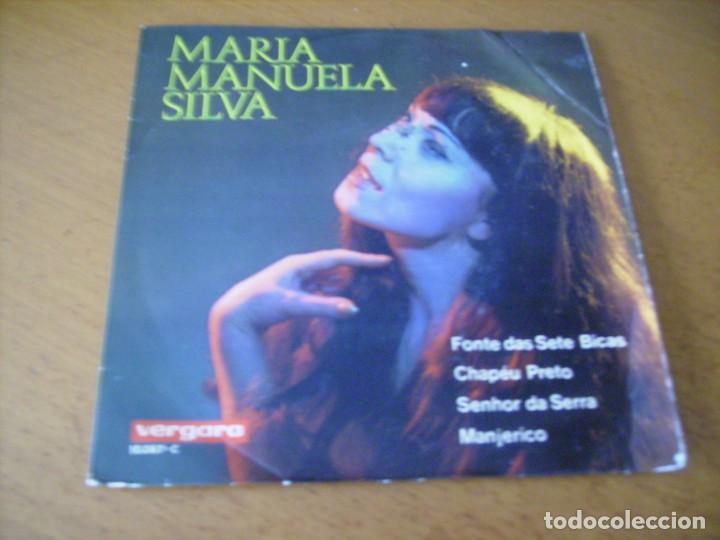 EP : MARIA MANUELA SILVA / FONTE DAS SETE BICAS + 3 / RARO ED SPAIN 1969 (Música - Discos de Vinilo - EPs - Canción Francesa e Italiana)