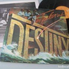 Discos de vinilo: THE JACKSONS - DESTINY .. LP DE EPIC 1978 ED. ESPAÑOLA - EPC 83200 - MUY BUEN ESTADO. Lote 205322303