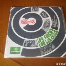 Discos de vinilo: EP : LOS BRAVOS * LOS CHICOS CON LAS CHICAS + 3 CONTIENE TRIANGULO LABEL. Lote 205322628